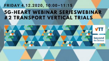 5G-HEART webinar on transport validation trials