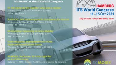 5G-MOBIX at the ITS World Congress 2021 in Hamburg