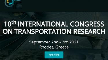10th International Congress on Transportation Research
