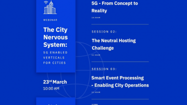 The City Nervous System: 5G enabled verticals for cities