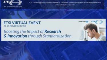 ETSI Virtual Event: Boosting the Impact of Research and Innovation through Standardization
