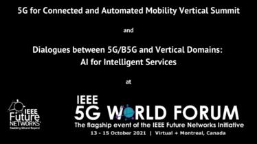 5G-MOBIX at IEEE 5G World Forum