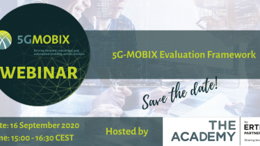 5G MOBIX Evaluation Framework: webinar nr. 4