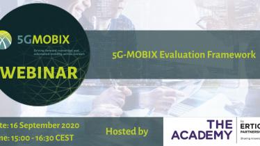 5G MOBIX Evaluation Framework: webinar nr. 4