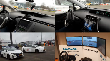 5G-MOBIX demo: Remote driving