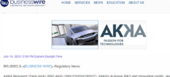 AKKA research: 5G-MOBIX - new 5G cross-border corridors for connected and automated driving