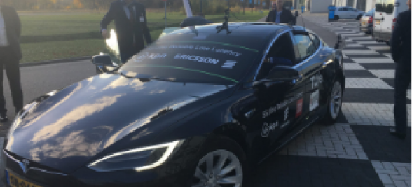 KPN 5G FieldLab on the Automotive Campus: Step bystep towards future mobility
