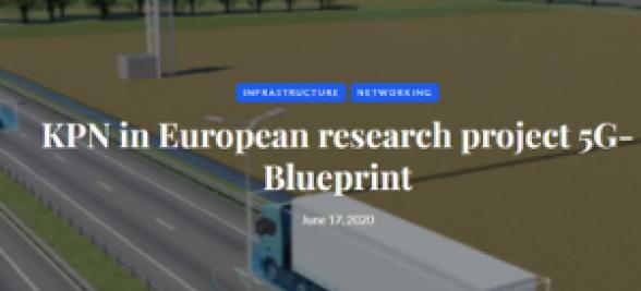 KPN in European research project 5G-Blueprint