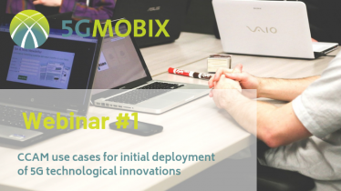 Registration for 5G-MOBIX 1st webinar is now open!